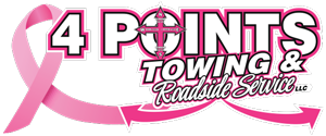 4 Points Towing & Roadside Service Logo