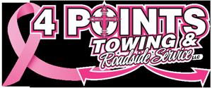 4 Points Towing & Roadside Service Logo